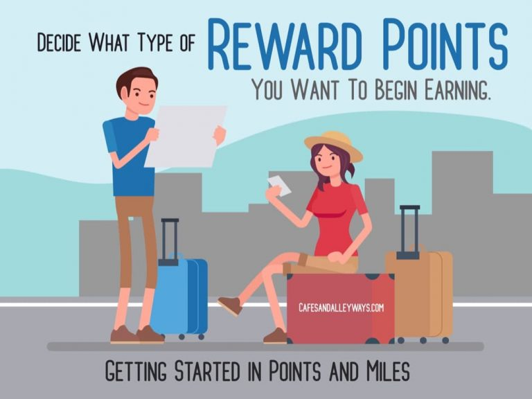 Decide What Type of Reward Points You Want to Begin Earning